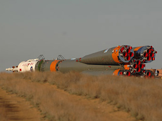 Russian Soyuz rocket