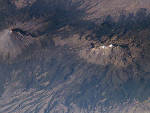 Volcanoes near Mexico City